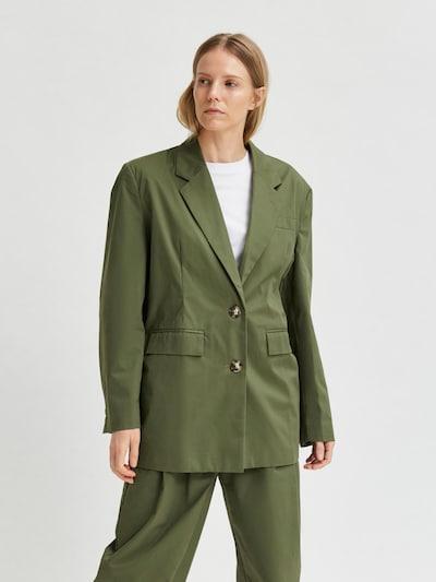 SELECTED FEMME Blazer 'Drew' in khaki, Modelansicht