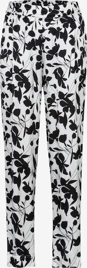 STEHMANN Bügelfaltenhose in schwarz / weiß, Produktansicht