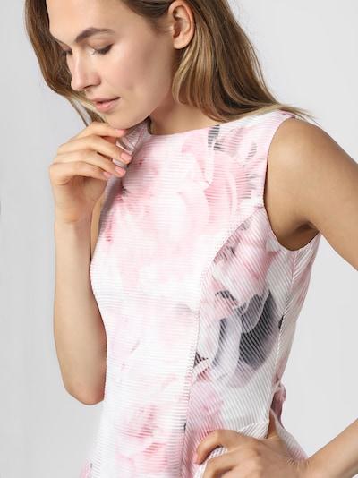 apriori Kleid in grau / rosa / weiß, Produktansicht