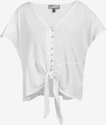 Tricou de la DreiMaster Vintage pe alb