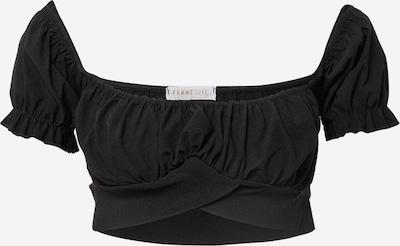Tricou 'CHLOE' Femme Luxe pe negru, Vizualizare produs