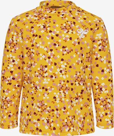 Hummel Schwimmshirt in beige / orange / pfirsich / rosé / weinrot, Produktansicht
