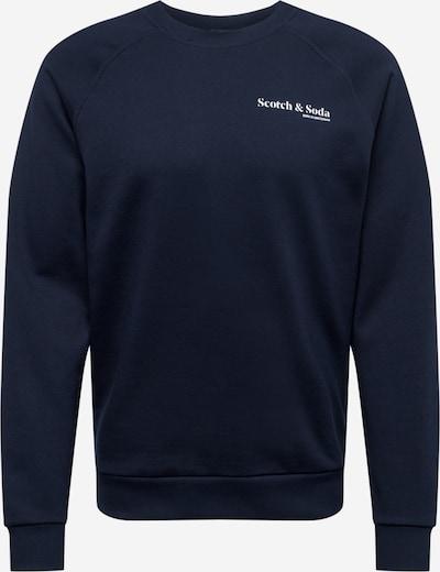 SCOTCH & SODA Sweatshirt in navy / weiß, Produktansicht