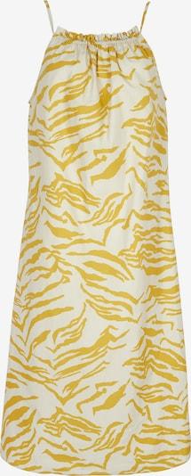 Aligne Robe 'Caleb' en jaune d'or / blanc naturel, Vue avec produit