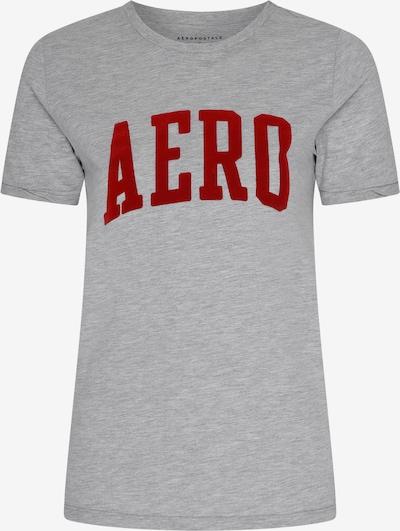 Maglietta AÈROPOSTALE di colore grigio sfumato / rosso, Visualizzazione prodotti