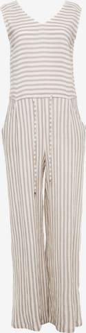 Madam-T Jumpsuit 'Billabona' in White