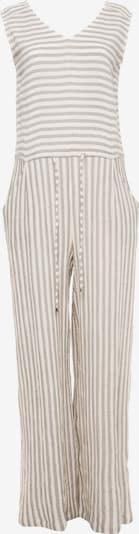 Madam-T Jumpsuit 'Billabona' in de kleur Grijs / Wit, Productweergave