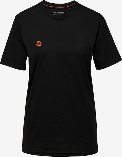 MAMMUT T-Shirt 'Essential' in grau / schwarz, Produktansicht