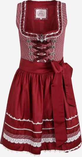 MARJO Kleid 'Katrin' in bordeaux / weiß, Produktansicht