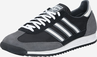 ADIDAS ORIGINALS Sneakers low 'SL 72' in black / white, Item view