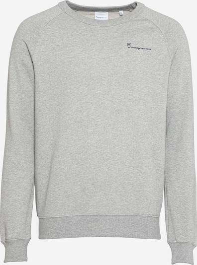 KnowledgeCotton Apparel Sweatshirt 'ELM' in hellgrau / pfirsich / lachs / schwarz, Produktansicht