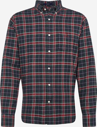 GANT Košulja u mornarsko plava / zelena / crvena, Pregled proizvoda
