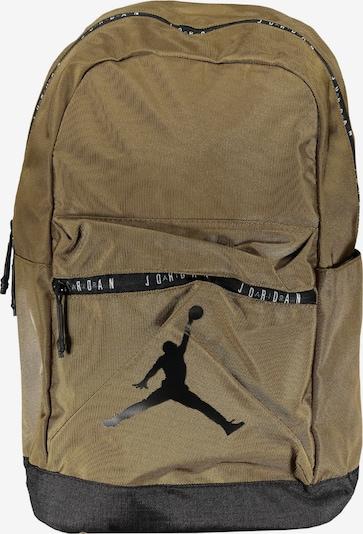 Jordan Rucksack in grün / schwarz, Produktansicht
