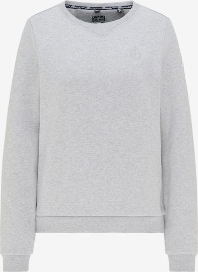 DreiMaster Maritim Sweatshirt in hellgrau, Produktansicht