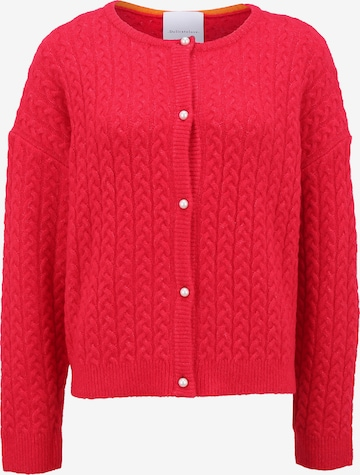 DELICATELOVE Cardigan 'SHOU CABLE' in Rot