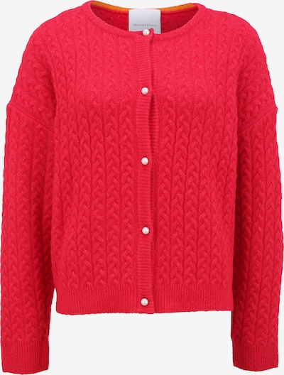 DELICATELOVE Knit Cardigan 'SHOU CABLE' in Red, Item view