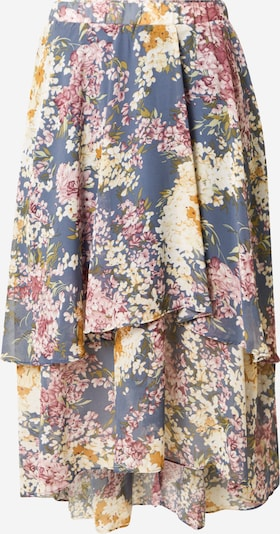 NA-KD Rock in rauchblau / honig / pastellgrün / pitaya / weiß, Produktansicht