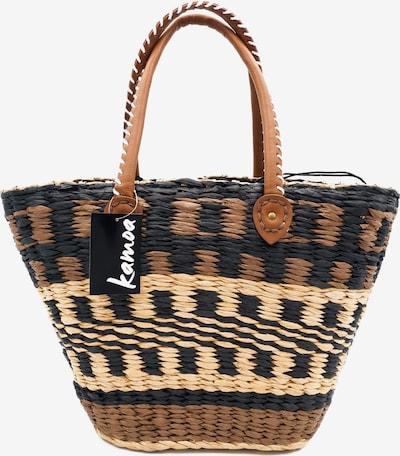 Kamoa Beach Bag in Beige / Brown / Black, Item view