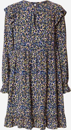 SCOTCH & SODA Kleid in blau / nachtblau / gelb / rosa, Produktansicht