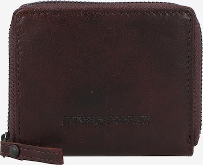 Spikes & Sparrow Portemonnee 'Bronco' in de kleur Donkerbruin, Productweergave