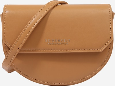 Seidenfelt Manufaktur Crossbody bag 'Tjörn' in Camel / Silver, Item view