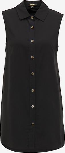 usha BLACK LABEL Chemisier en noir, Vue avec produit
