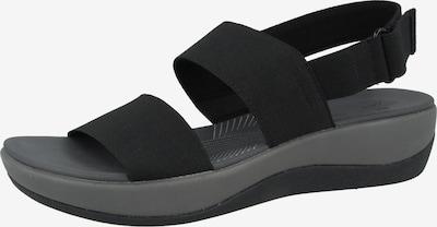 CLARKS Sandale 'Arla Jacory' in schwarz, Produktansicht