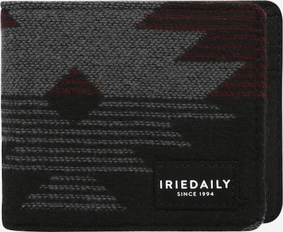 Iriedaily Geldbörse in anthrazit / graumeliert / karminrot, Produktansicht