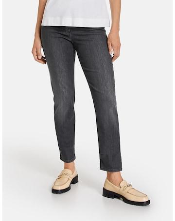 GERRY WEBER Jeans 'Best4me' in Grau