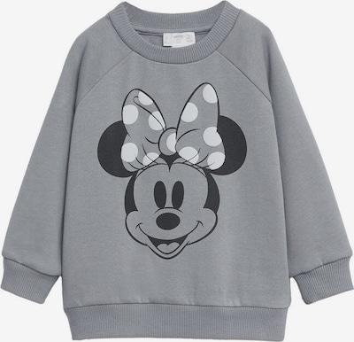 MANGO KIDS Sweatshirt in grau / schwarz / weiß, Produktansicht