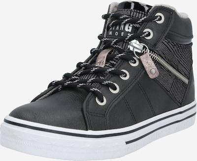 Sneaker alta MUSTANG di colore grafite / bianco, Visualizzazione prodotti