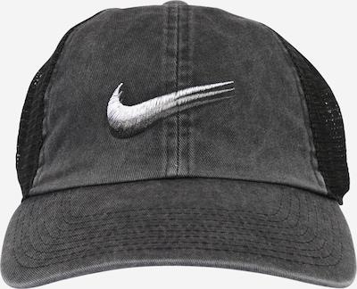 Șapcă 'Heritage 86' Nike Sportswear pe negru / alb, Vizualizare produs