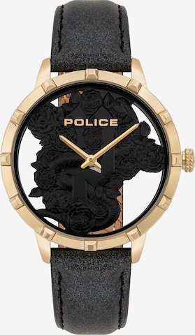 POLICE Analog Watch ' ' in Black