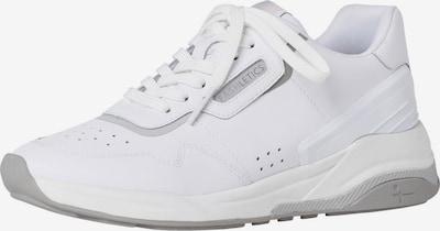 TAMARIS Baskets basses en blanc, Vue avec produit