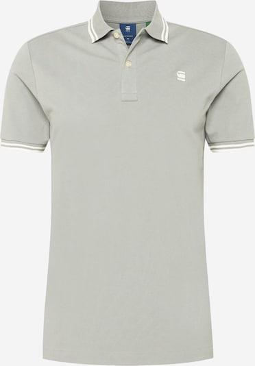 G-Star RAW T-Shirt 'Dunda' in grau / weiß, Produktansicht
