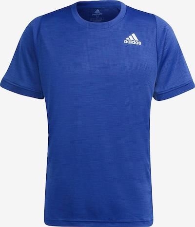 ADIDAS PERFORMANCE Sportshirt 'Freelift' in blau / weiß, Produktansicht