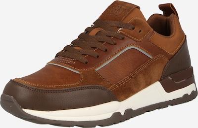 Marc O'Polo Sneaker 'Peter' in karamell / cognac / dunkelbraun, Produktansicht