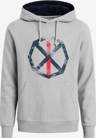 Shirts for Life Sweatshirt 'Matteo Spinnrad' in Grau
