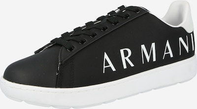 ARMANI EXCHANGE Trampki niskie w kolorze czarny / białym, Podgląd produktu