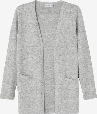 NAME IT Плетена жилетка 'Victi' в сив меланж, Преглед на продукта