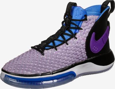 NIKE Chaussure de sport 'AlphaDunk' en bleu / violet clair / violet foncé / noir, Vue avec produit