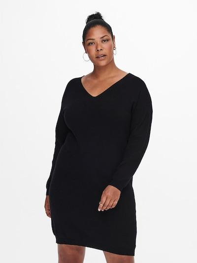 Rochie 'ESLY' ONLY Carmakoma pe negru, Vizualizare model