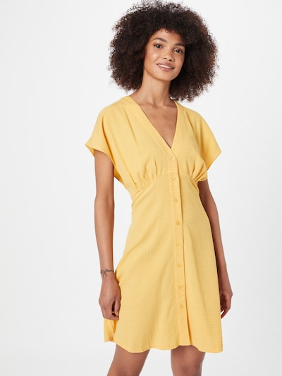 Samsoe Samsoe Kleid 'Valerie' in goldgelb, Modelansicht