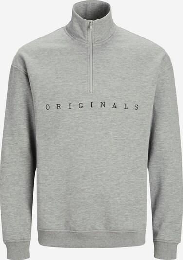 JACK & JONES Sweatshirt in de kleur Lichtgrijs, Productweergave