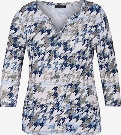 Rabe Shirt in blau / grau / perlweiß, Produktansicht