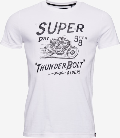 Superdry T-Shirt in weiß: Frontalansicht