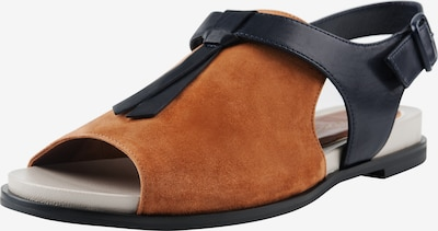 Ekonika Sandalen in braun, Produktansicht