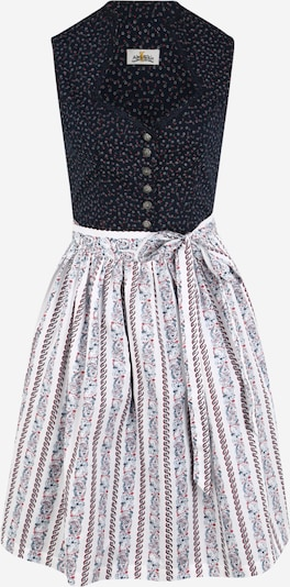 ALMSACH Dirndl in dark blue / pink / white, Item view