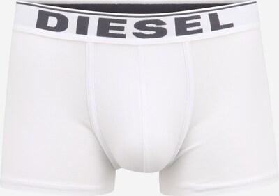 DIESEL Boxershorts 'UMBX-DAMIEN' in de kleur Donkergrijs / Wit, Productweergave
