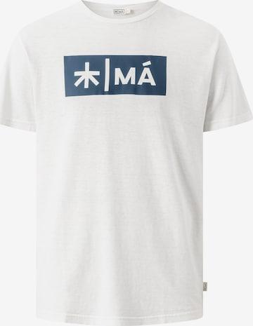MÁ Hemp Wear Shirt 'Reggie' in Weiß